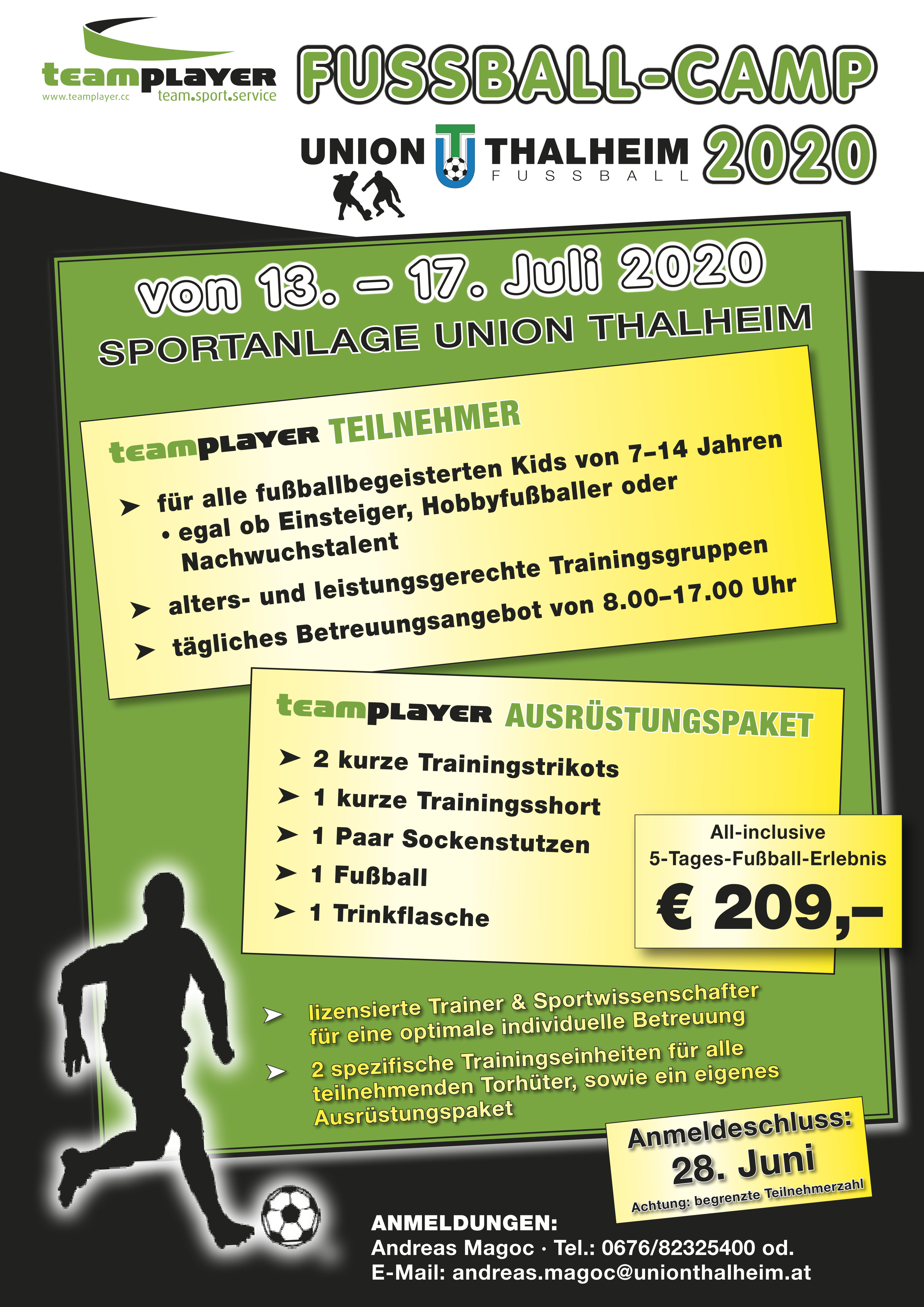 Flyer Union Thalheim